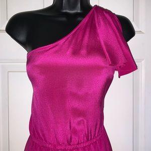 ANLO 100% Silk Cocktail Dress/ Size L